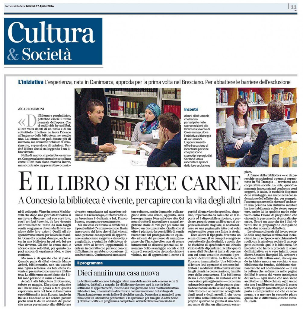 Stampa pagina