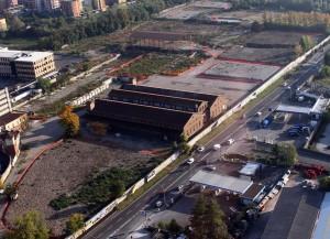 Una foto aerea delle Casére